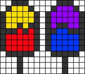 Alpha pattern #27745