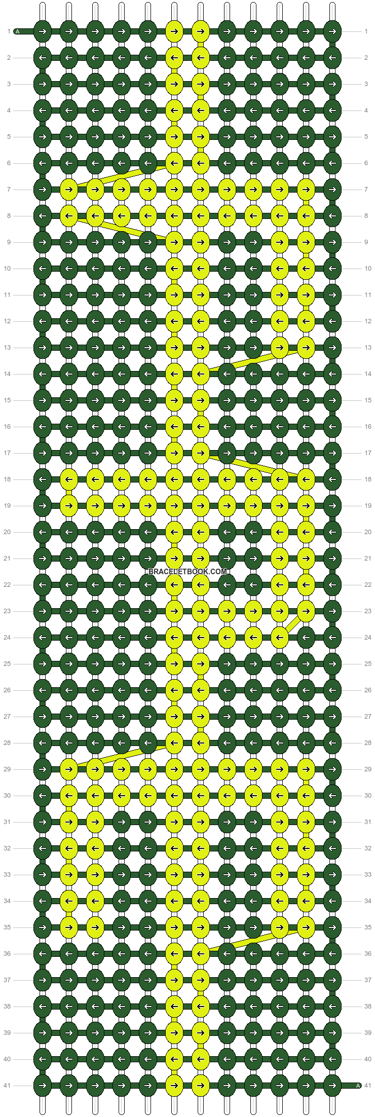 Alpha pattern #27767 pattern