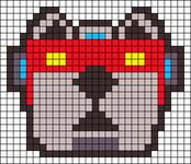 Alpha pattern #27782