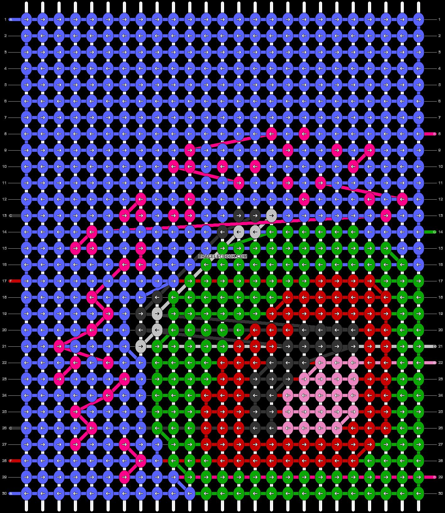 Alpha pattern #27802 pattern