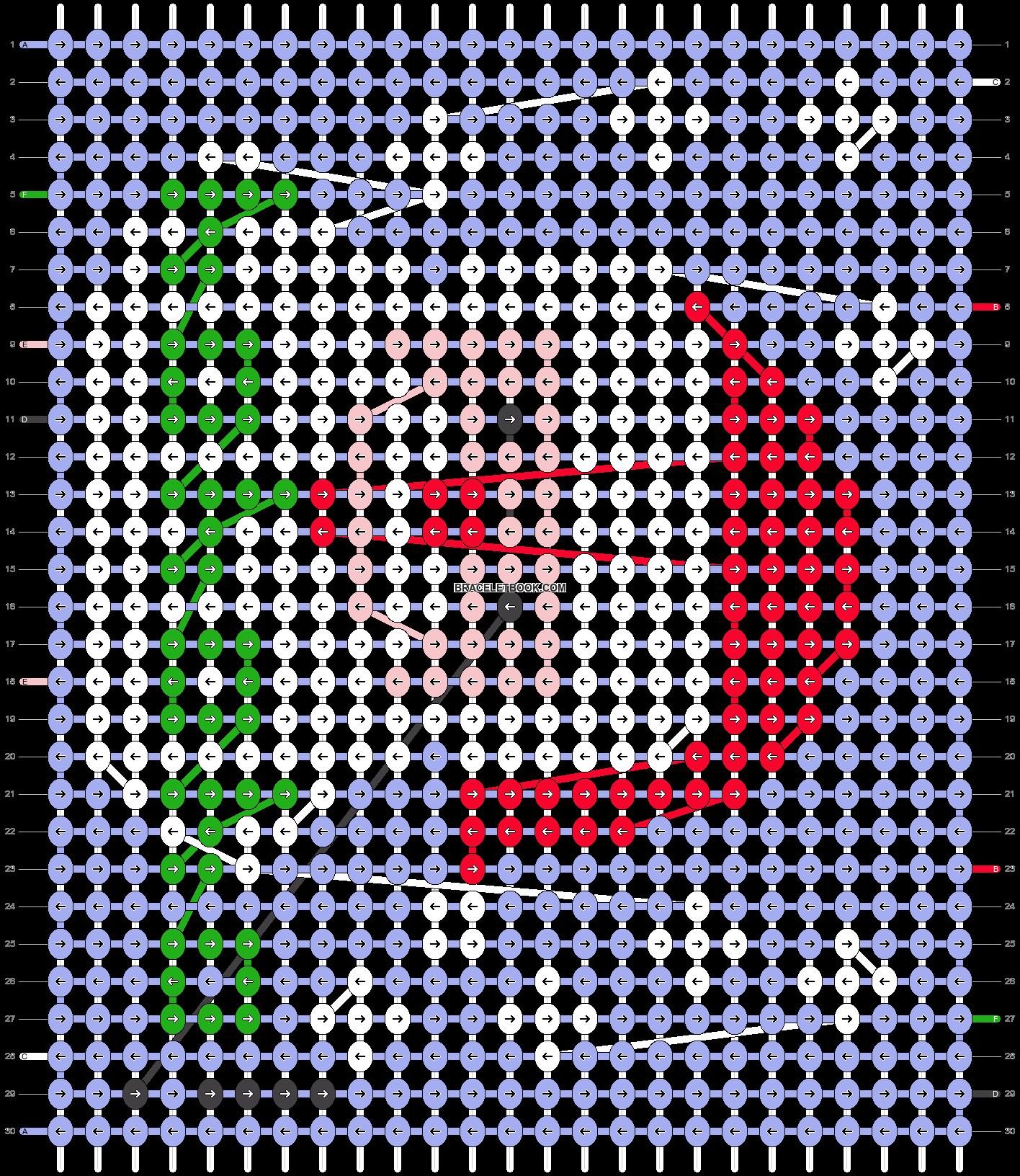 Alpha pattern #27803 pattern