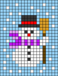 Alpha pattern #27804