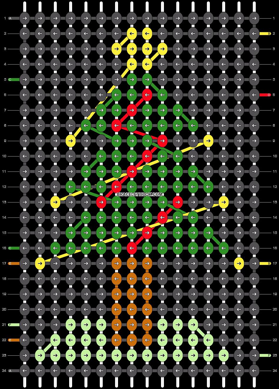 Alpha pattern #27805 pattern