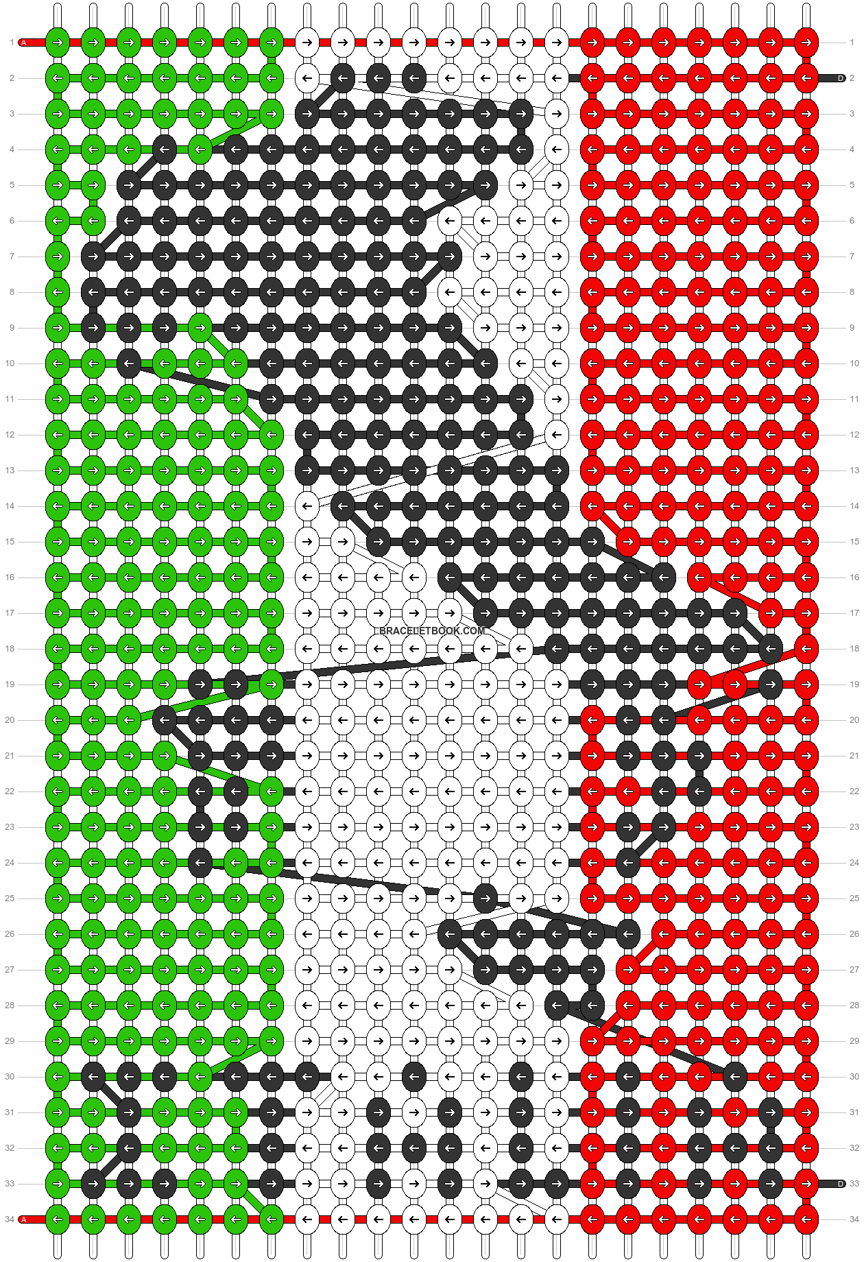 Alpha pattern #27820 pattern