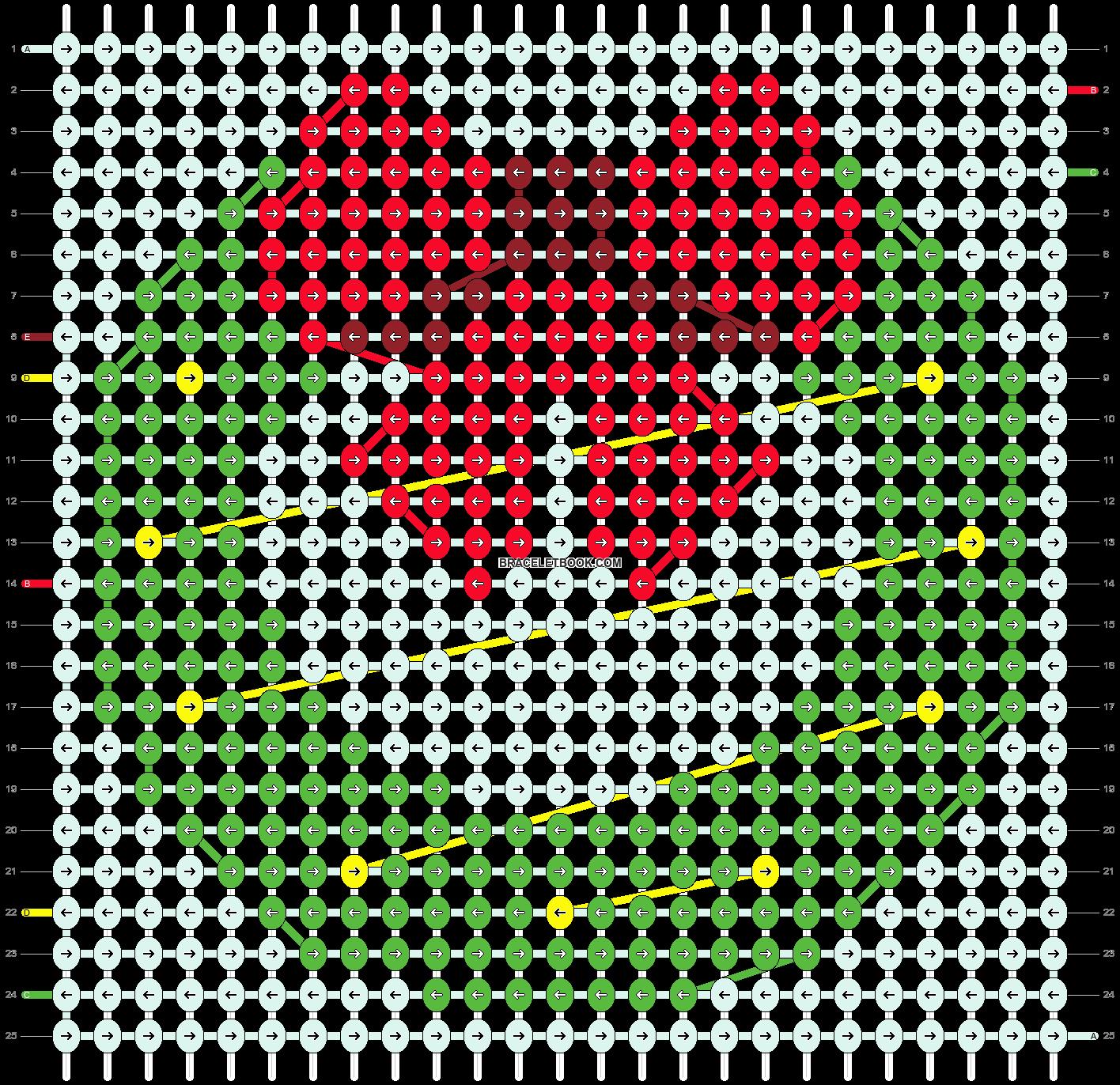 Alpha pattern #27869 pattern