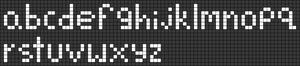 Alpha pattern #27872