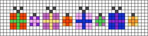 Alpha pattern #27873