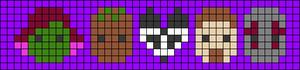 Alpha pattern #27887