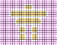 Alpha pattern #27933