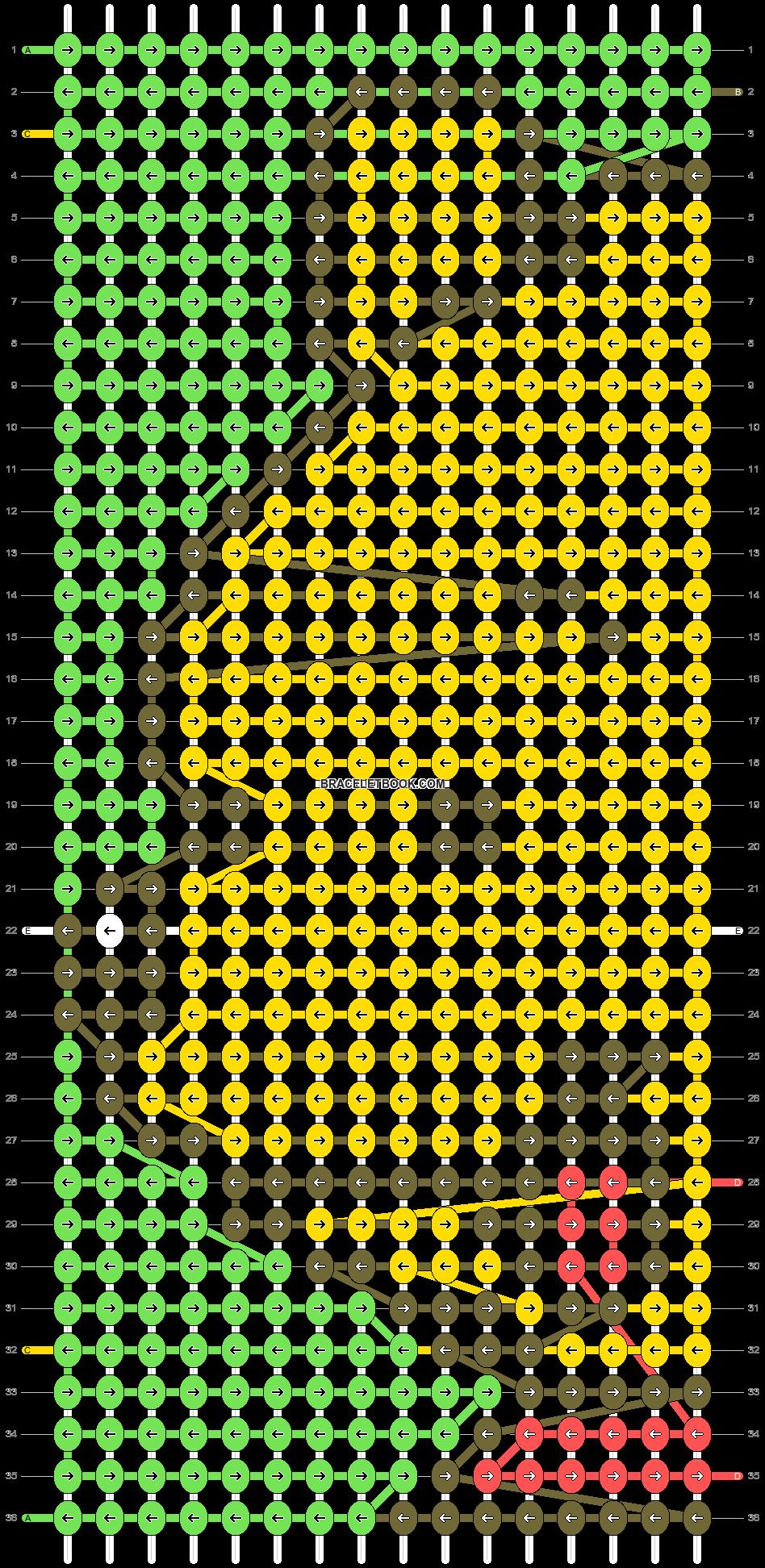 Alpha pattern #27987 pattern