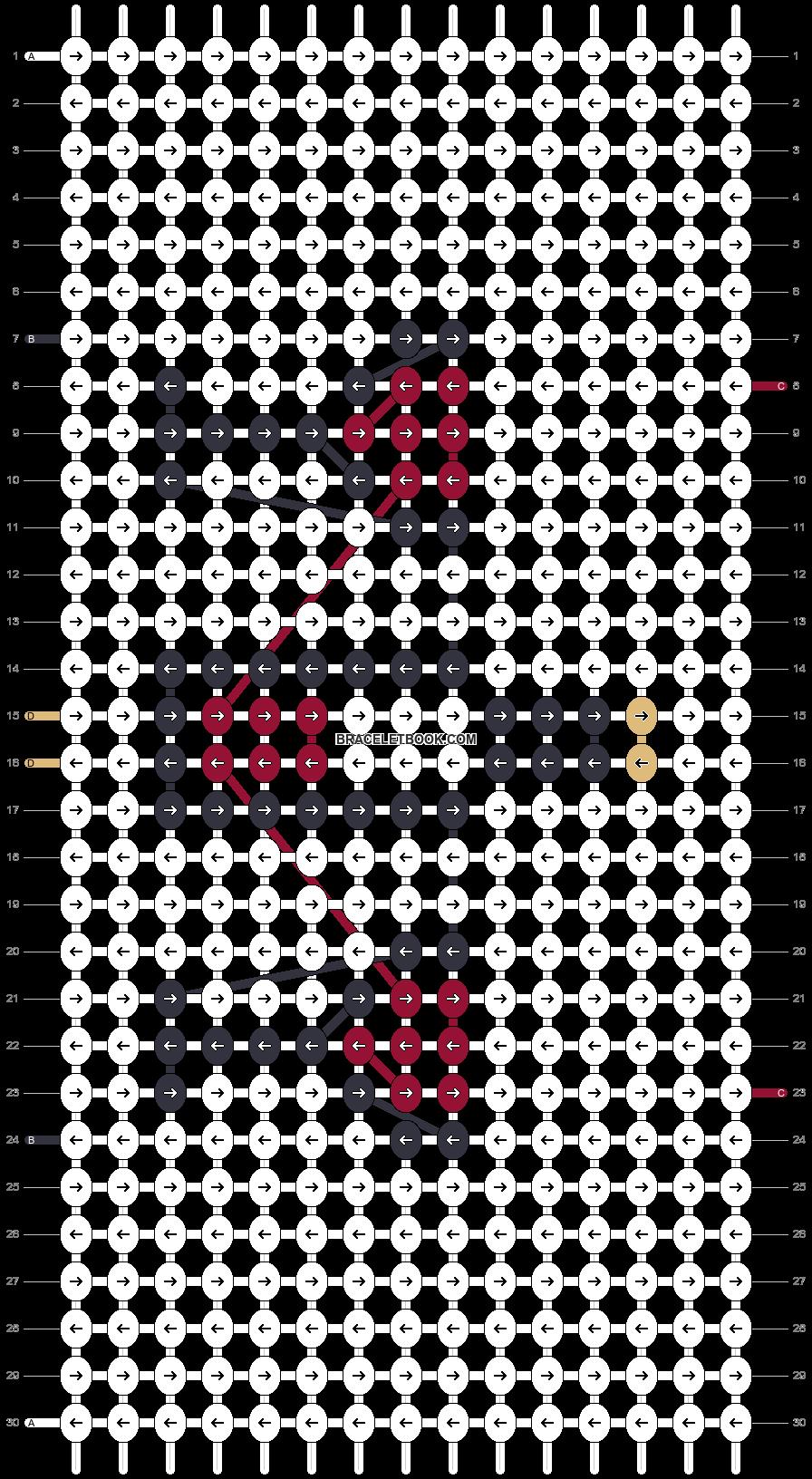 Alpha pattern #27991 pattern
