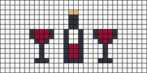 Alpha pattern #27991