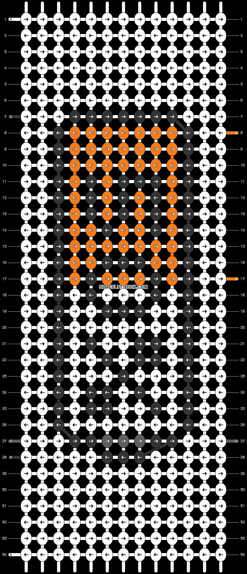 Alpha pattern #27993 pattern