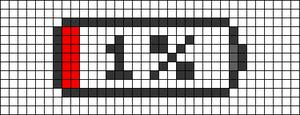 Alpha pattern #28006