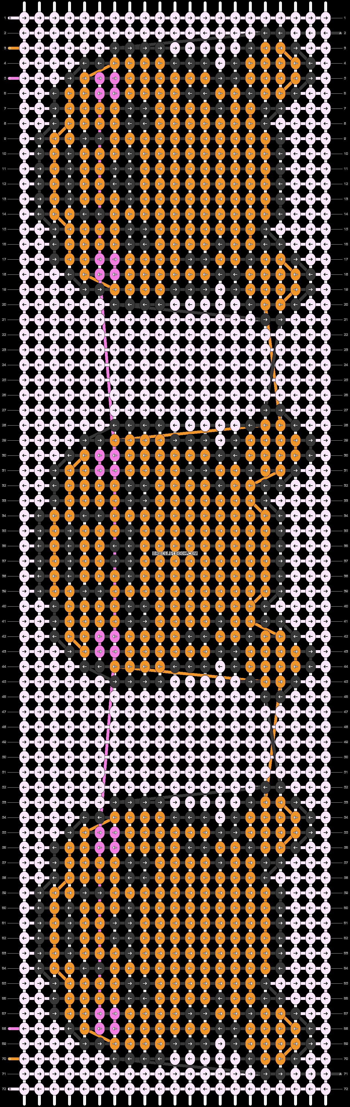 Alpha pattern #28008 pattern