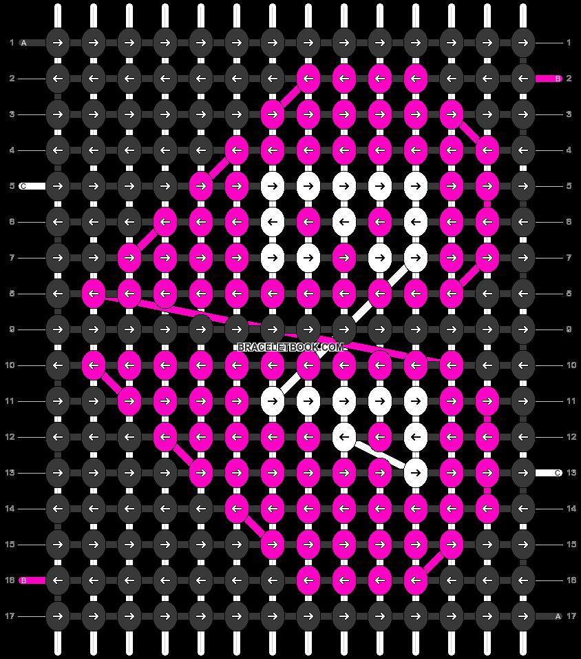 Alpha pattern #28013 pattern
