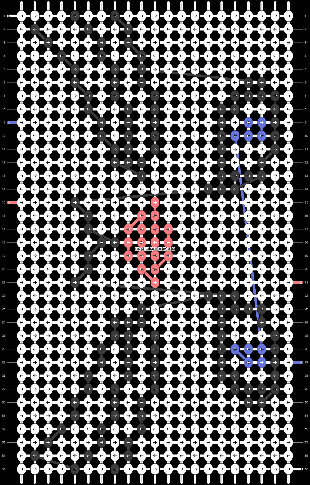 Alpha pattern #28015 pattern