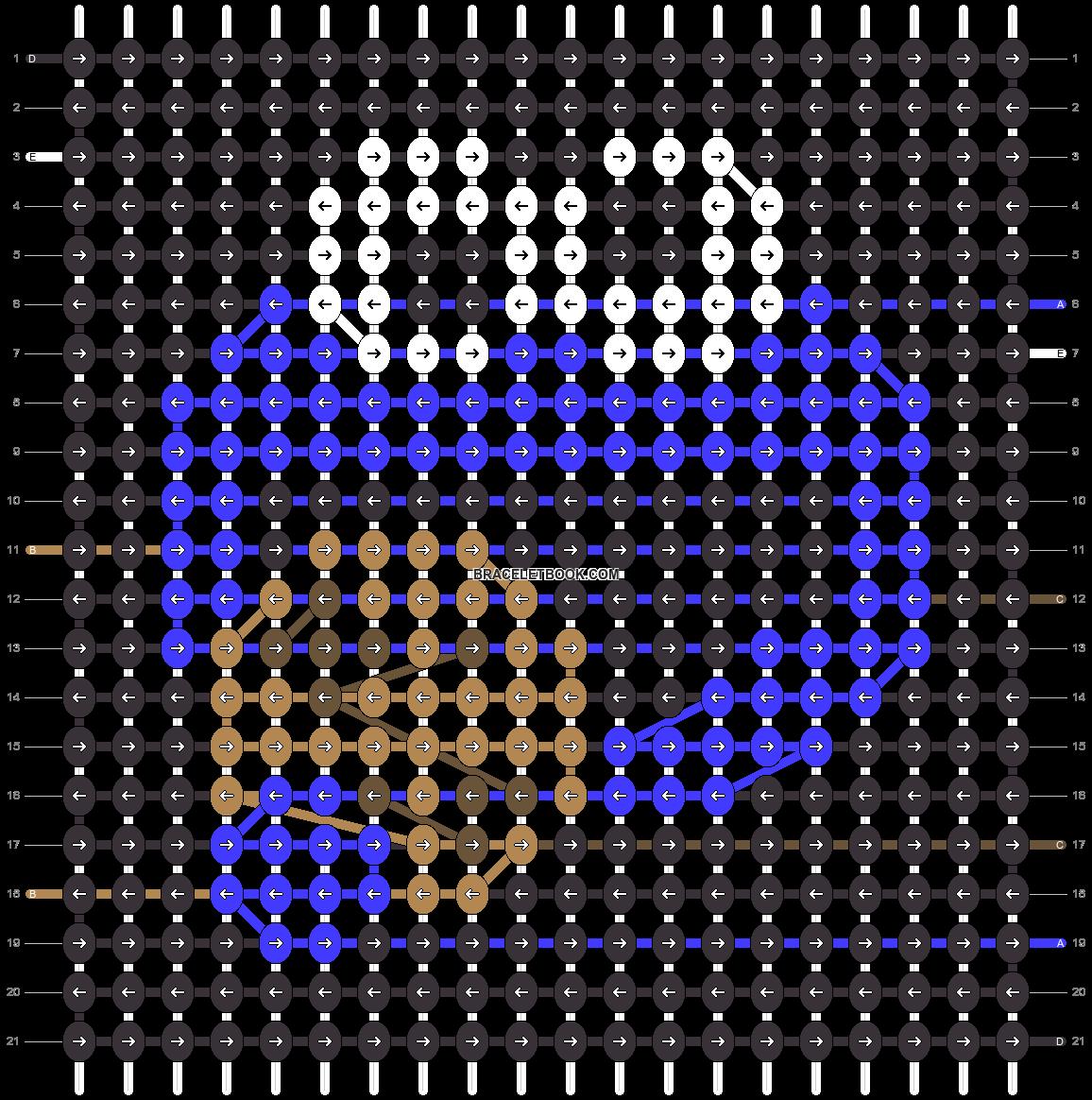 Alpha pattern #28016 pattern