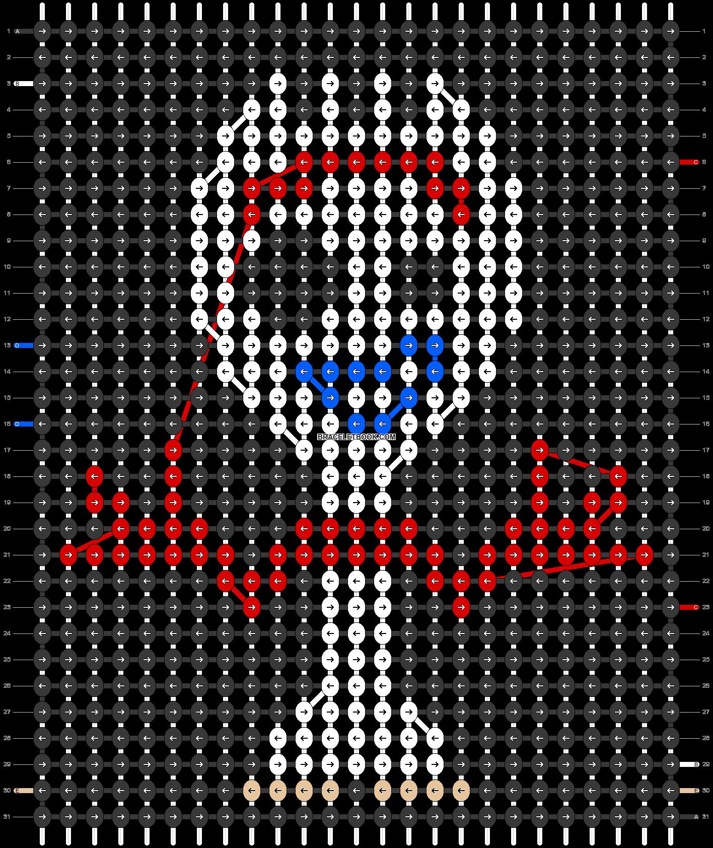 Alpha pattern #28017 pattern