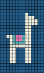 Alpha pattern #28049