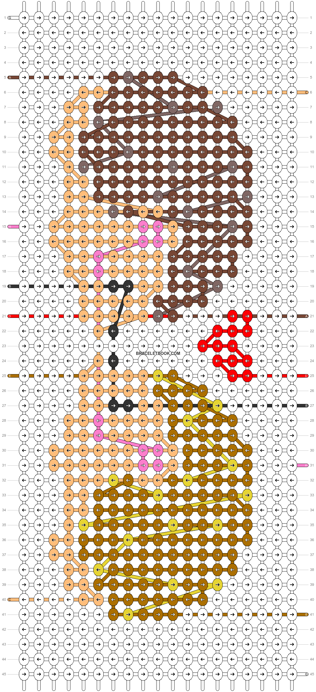Alpha pattern #28057 pattern