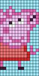 Alpha pattern #28060