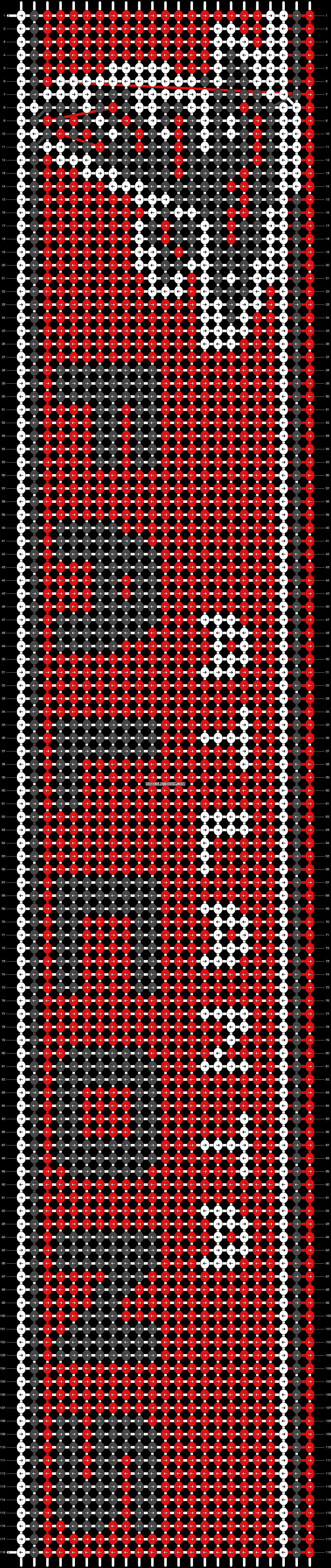 Alpha pattern #28069 pattern