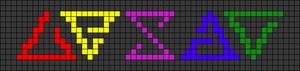 Alpha pattern #28093