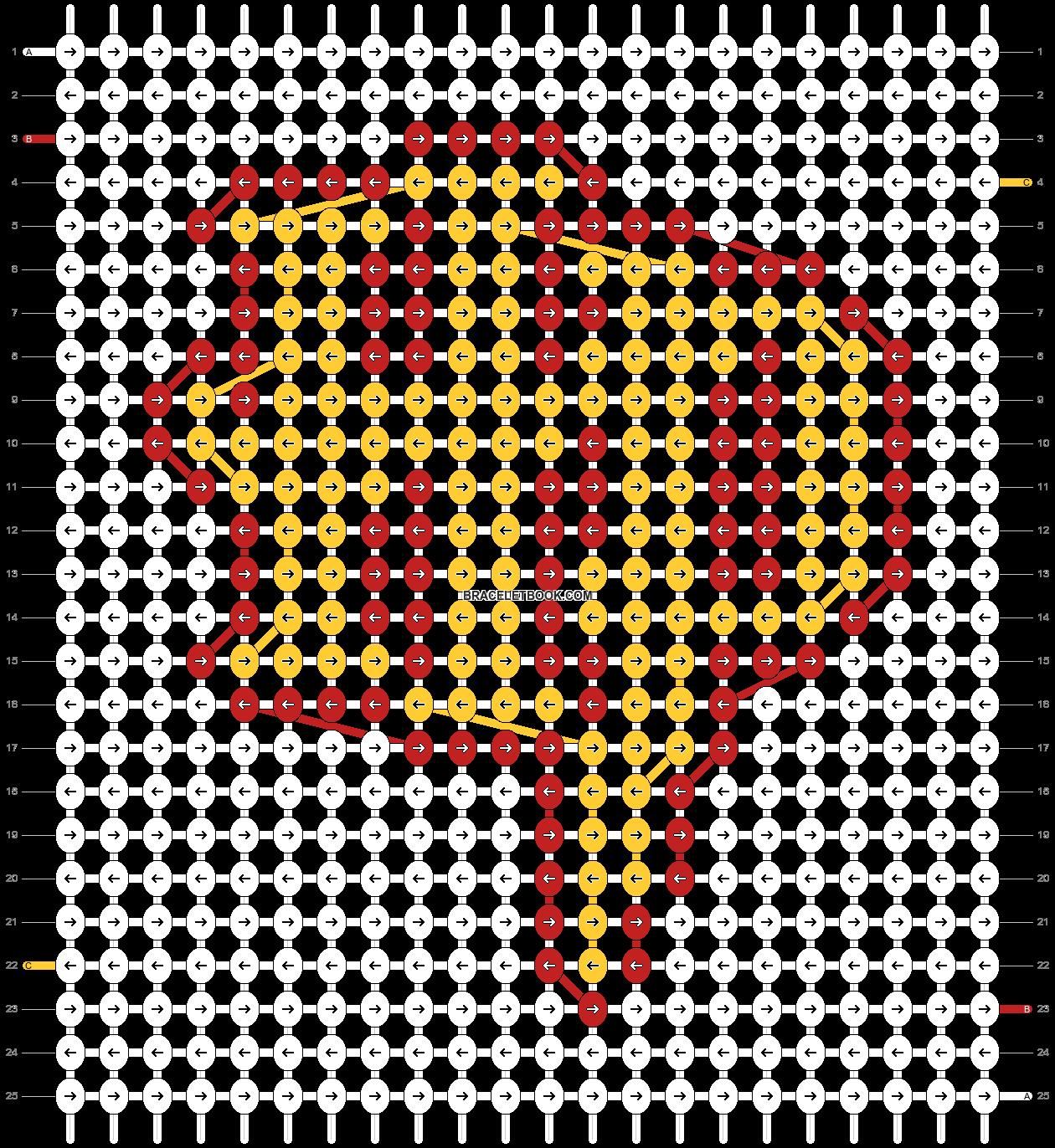 Alpha pattern #28109 pattern