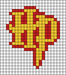 Alpha pattern #28109