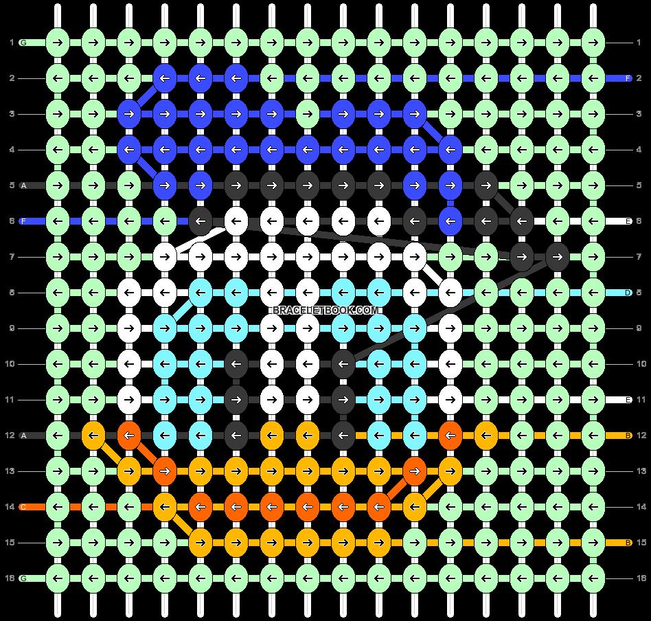 Alpha pattern #28114 pattern