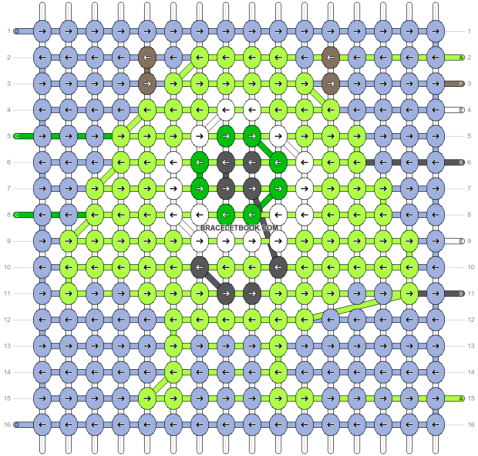 Alpha pattern #28115 pattern