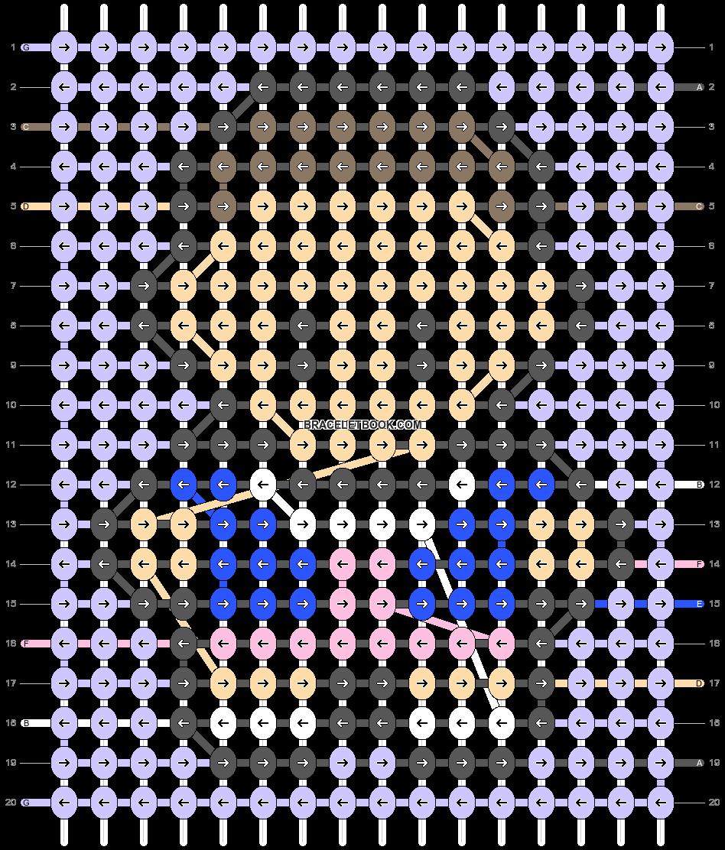 Alpha pattern #28118 pattern