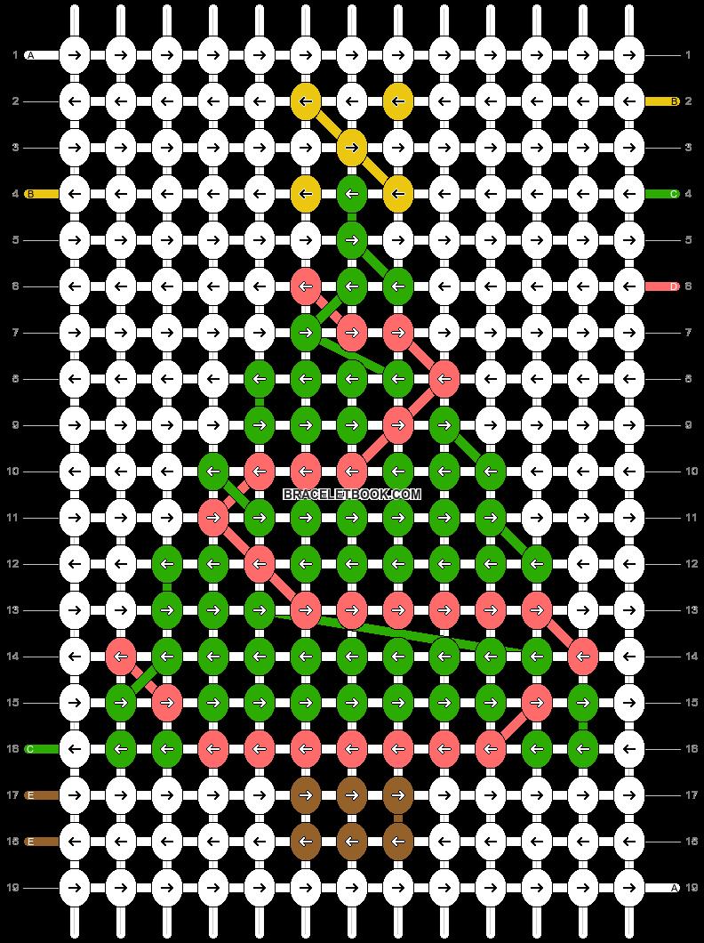 Alpha pattern #28166 pattern