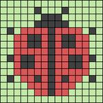 Alpha pattern #28207