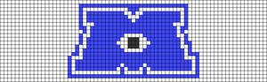 Alpha pattern #28247