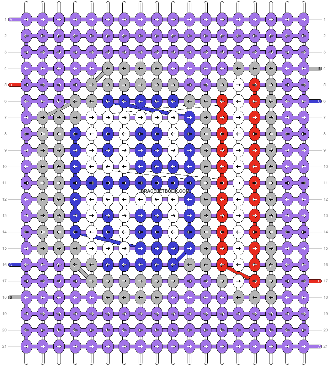 Alpha pattern #28257 pattern