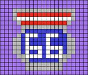 Alpha pattern #28257