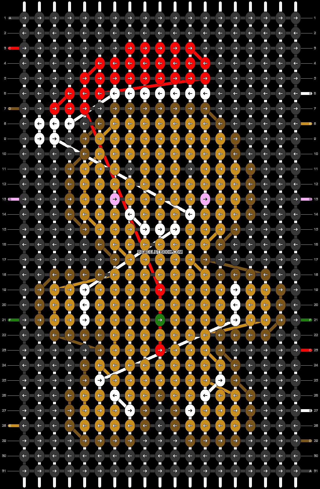 Alpha pattern #28260 pattern