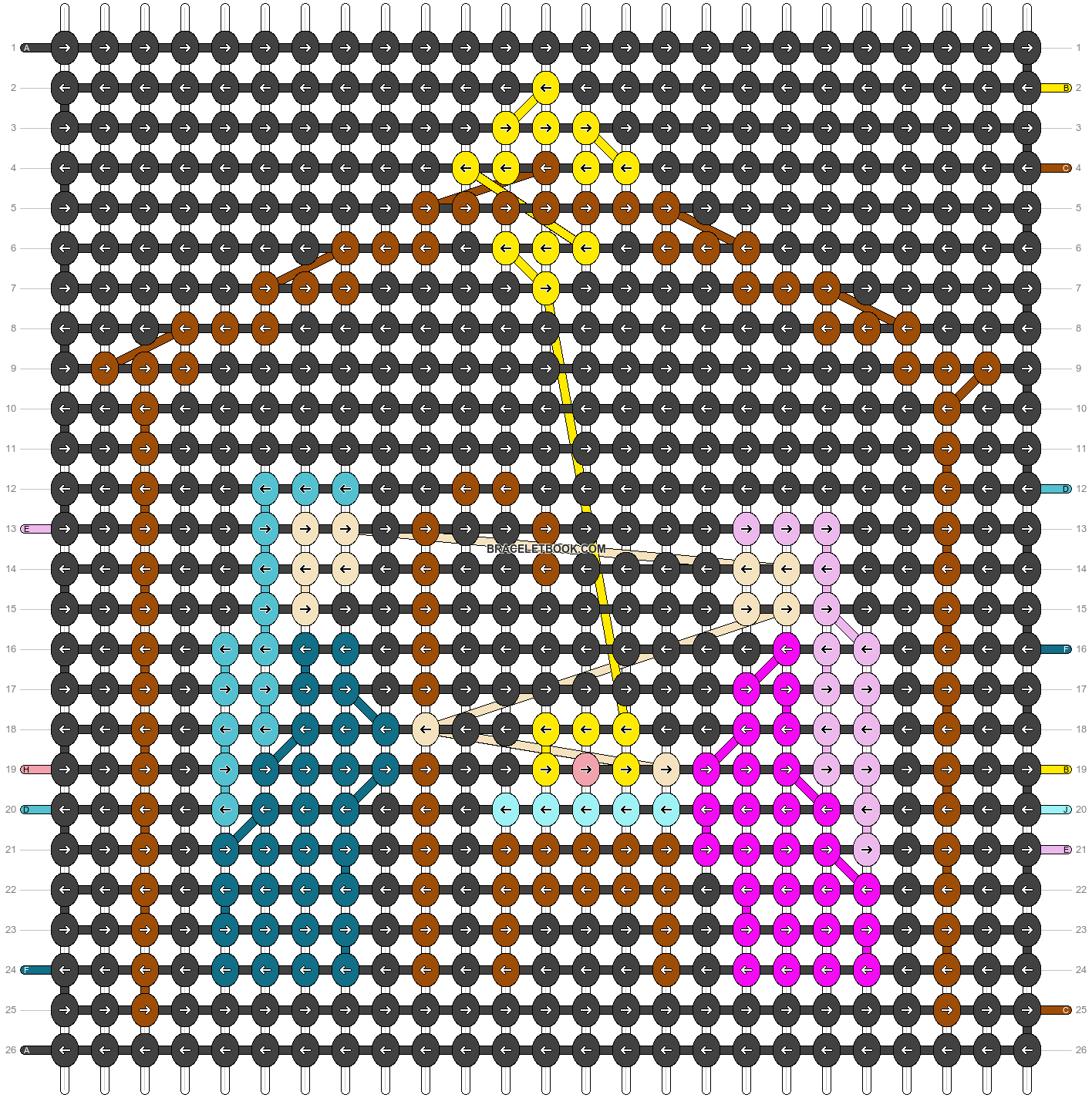 Alpha pattern #28261 pattern