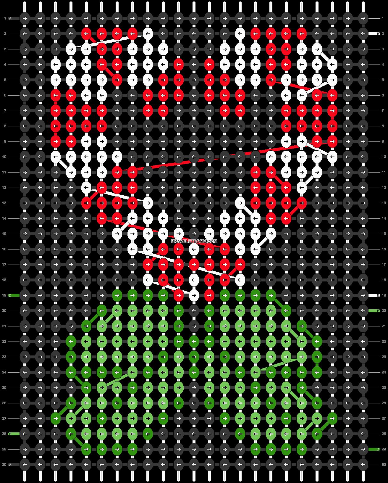 Alpha pattern #28268 pattern