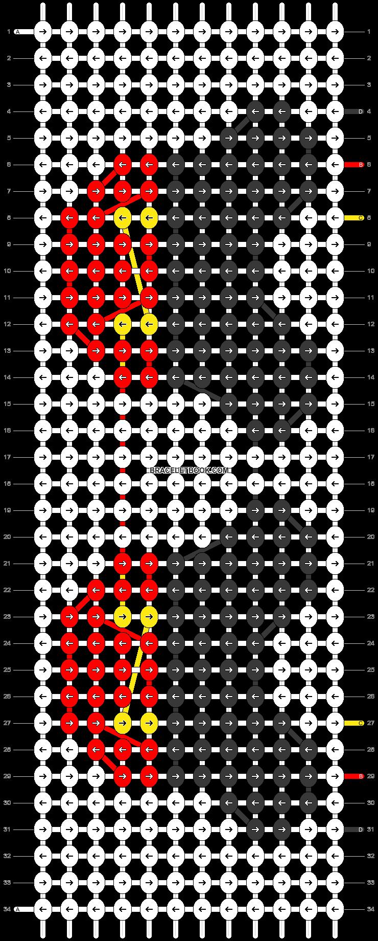 Alpha pattern #28280 pattern