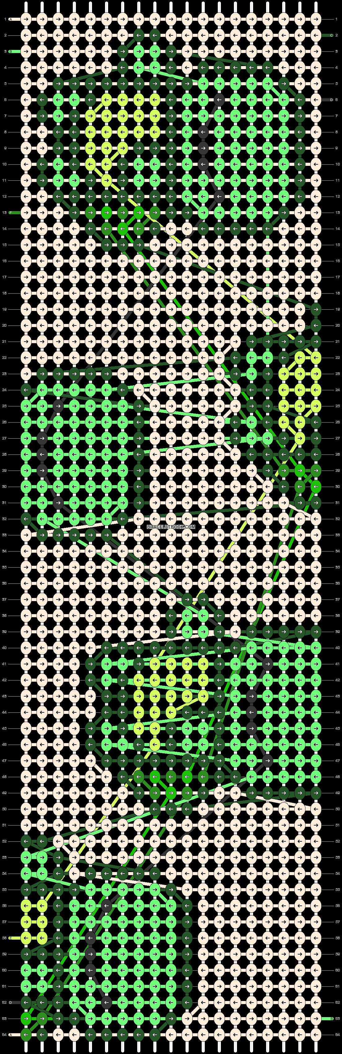 Alpha pattern #28285 pattern