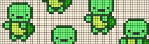 Alpha pattern #28285