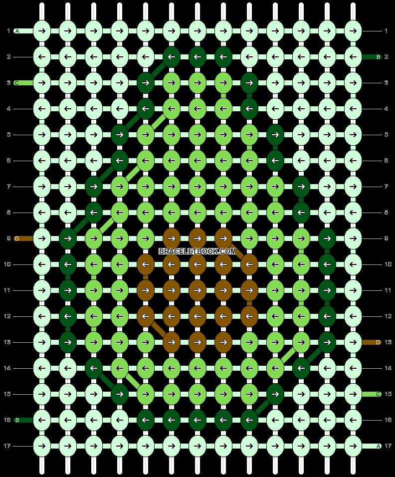 Alpha pattern #28330 pattern