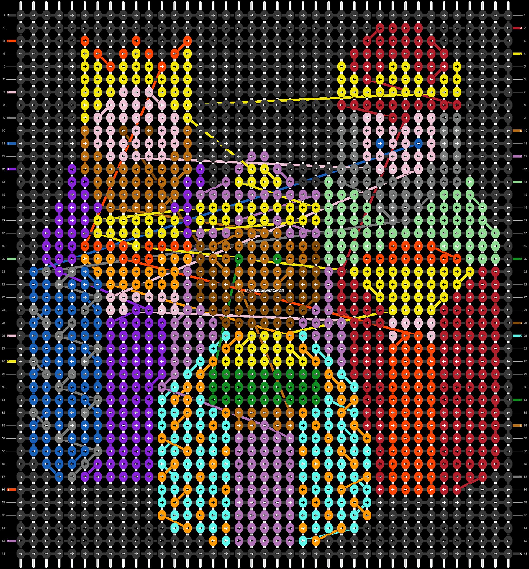 Alpha pattern #28366 pattern