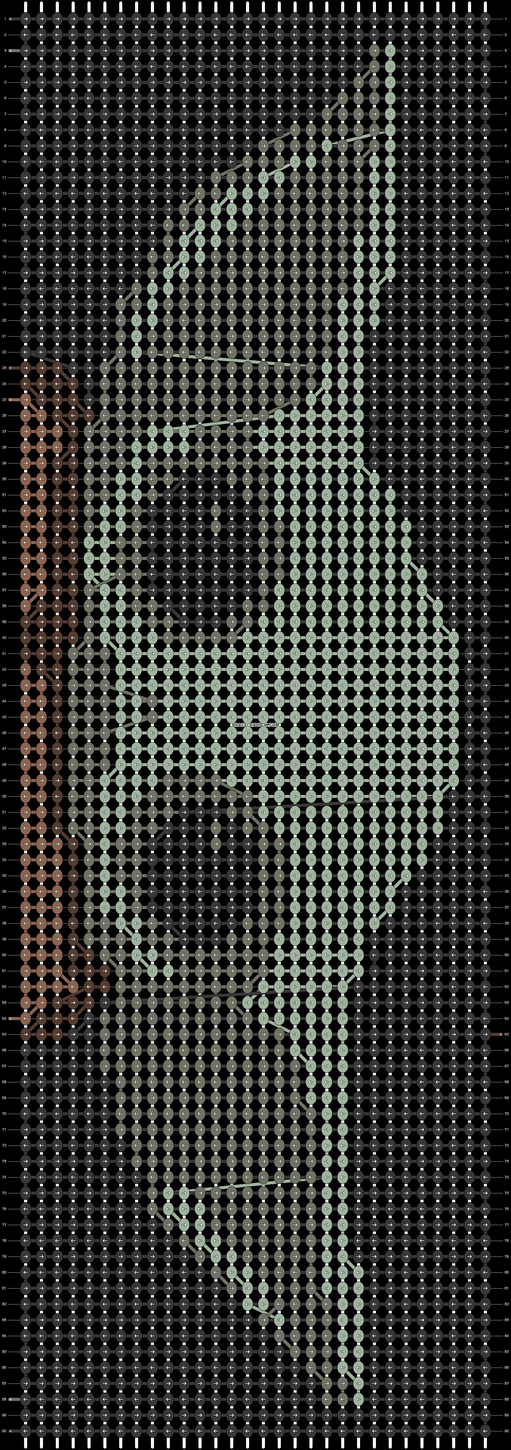 Alpha pattern #28377 pattern