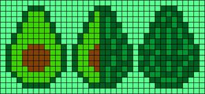 Alpha pattern #28378