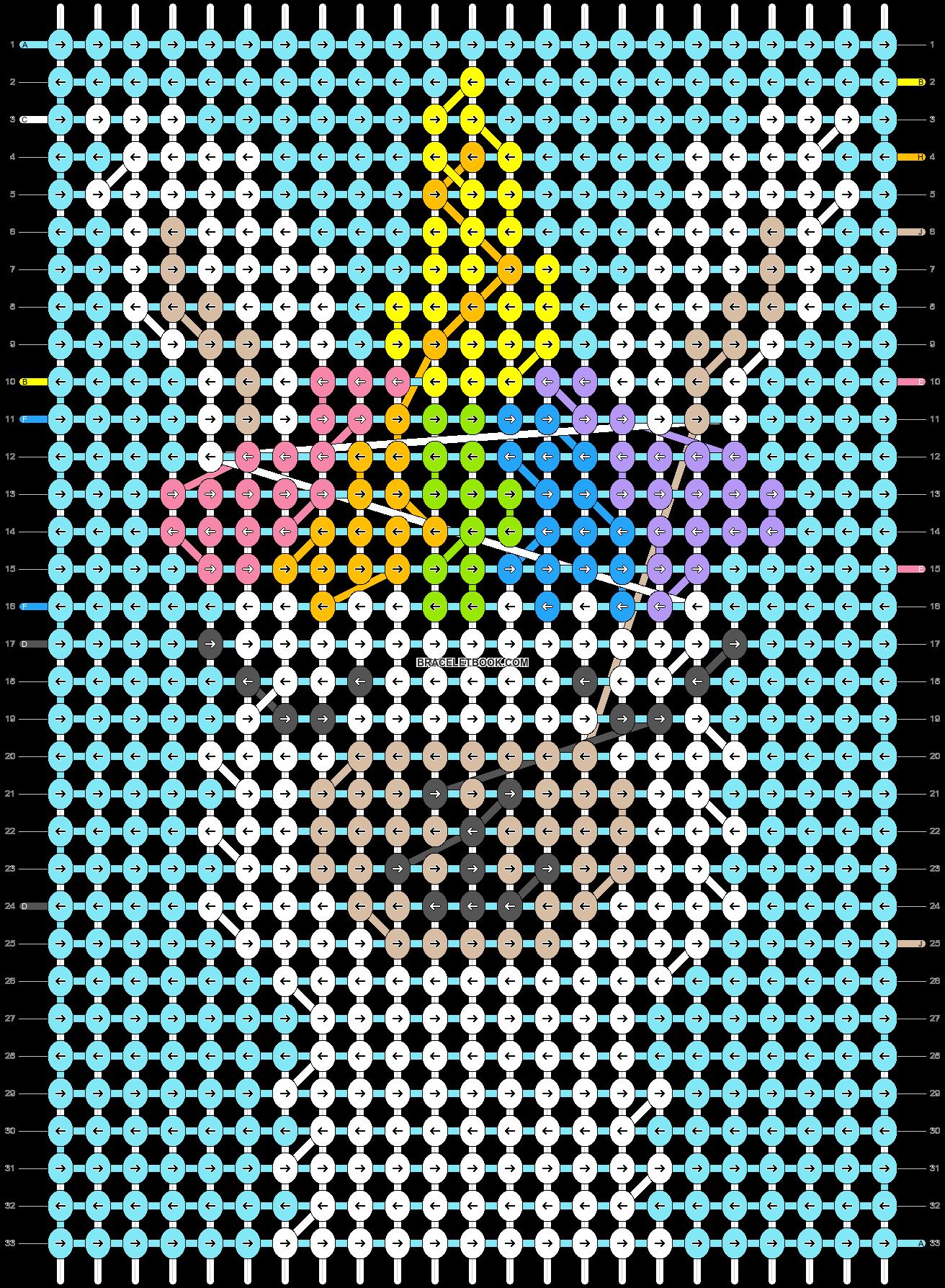 Alpha pattern #28386 pattern