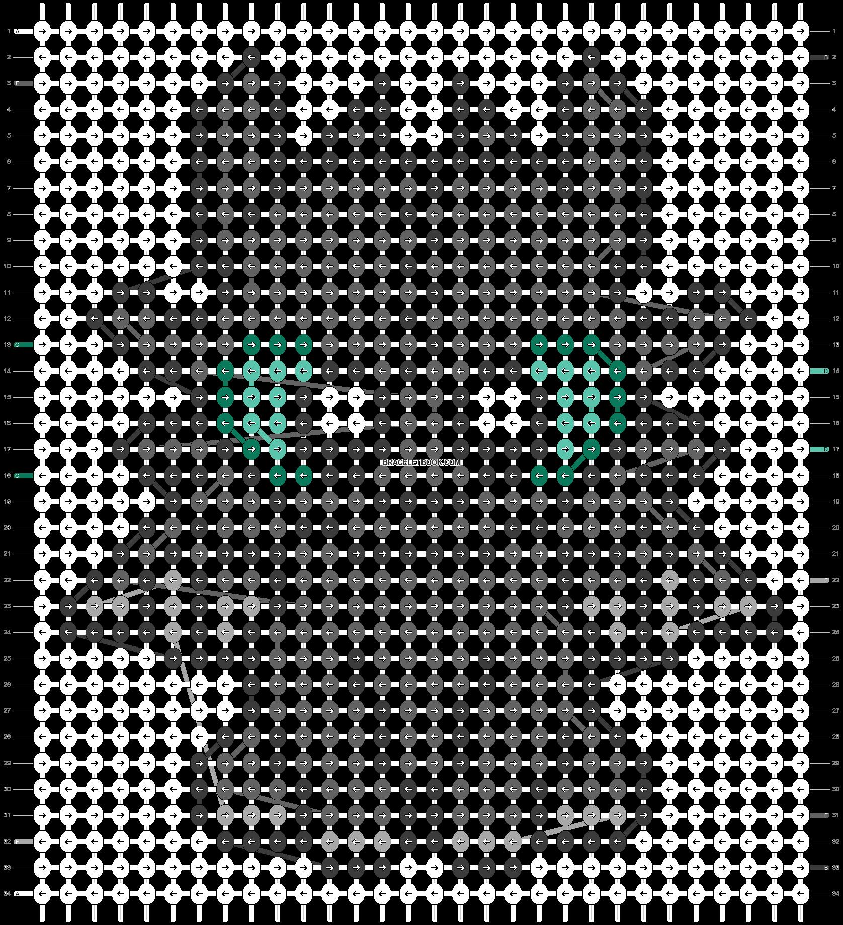 Alpha pattern #28395 pattern